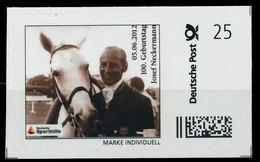 BRD PRIVATPOST Nr Josef Neckermann Postfrisch X8264AE - Private & Local Mails