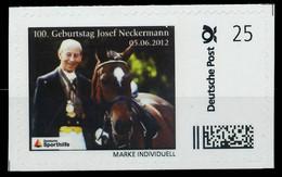 BRD PRIVATPOST Nr Josef Neckermann Postfrisch X8264CE - Private & Local Mails
