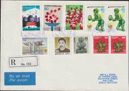 Korea Registered Cover 1988 Seoul Olympic Games (G134-56) - Verano 1988: Seúl