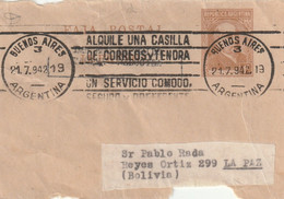 ARGENTINA AIRMAIL COVER 1942 - Other