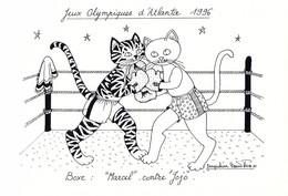 France Postcard 1996 Atlanta Olympic Games - Mint (G134-54) - Verano 1996: Atlanta