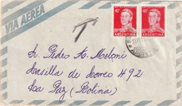 ARGENTINA AIRMAIL COVER 1958 - Other