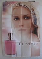 Affiche Publicitaire Abribus - Parfum - Lancôme - Miracle -  Egérie Diane Kruger. - Other