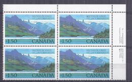 Canada 1982. Parque Waterton . Sc=935 (**) - Neufs