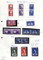 [702640]B/TB//MIX/MIX-Afrique Du Sud  - Petit Lot Mixte, */mh, Obl/Used, Familles Royales - South West Africa (1923-1990)