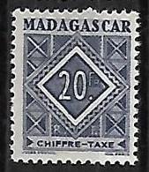 MADAGASCAR TAXE N°40 N* - Postage Due