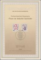 ETB 21/1987 Frauen Der Geschichte, Merian, Erxleben - FDC: Covers