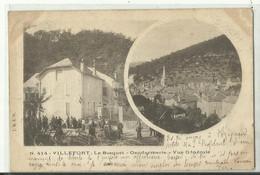 VILLEFORT LE BOSQUET  GENDARMERIE  VUE GENERALE 1903 - Villefort