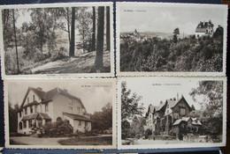 CP. 3874. Quatre CP De La Hulpe, La Corniche, Panorama, Croix De Lorraine, Sous-bois - La Hulpe