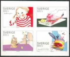 Zweden 2010 Lekkernijen Blok Uit Boekje  PF-MNH-NEUF - Neufs