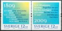 Zweden 2009 Twee Landen Paar II PF-MNH-NEUF - Neufs