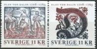 Zweden 2008 Olof Van Dalin Paar II PF-MNH-NEUF - Neufs