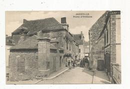 Cp , 28 , EURE ET LOIR , JANVILLE , Porte D'Orléans , Ed. Paty , Vierge - Autres Communes