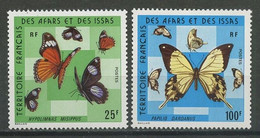 AFARS ISSAS N° 404/405 ** Neufs MNH Superbes C 18 € Faune Papillons  Butterflies Fauna Animaux - Nuovi