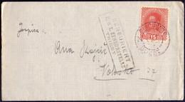 AUSTRIA - Letter BUZETPINGUENTE To VOLOSKO Via TRIESTE  CENZUR - KARL I  - 1917 - Brieven En Documenten