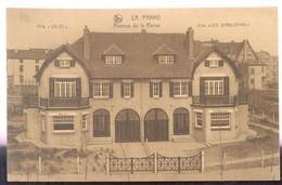 Cpa La Panne   Villas  1928 - De Panne