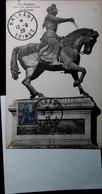 H 1  Lettre /carte /documents Jeanne D'arc - Commemorative Postmarks