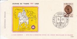 FDC 1961 Liège 16.04.61 - 1961-70