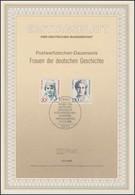 ETB 13/1988 Frauen Der Geschichte, Aussem, Meitner - FDC: Covers