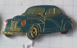 PIN'S - SHELL - Voiture Bleue  Années 1940 - FORD ?? - Ford