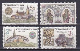 Czechoslovakia, 1982, Castles, Set, USED - Gebraucht