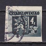 Czechoslovakia, 1945, Bratislava Issue, 4Kč, USED - Used Stamps