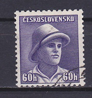 Czechoslovakia, 1945, London Issue/František Adámek, 60h, USED - Gebraucht