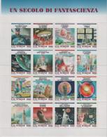 San Marino 1998 - Un Secolo Di Fantascienza In Foglietto MNH** (rif. BF60 Cat. Unificato) - Blocs-feuillets