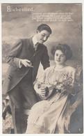 (114340) Foto AK Liebeslied, Verträumt Und Versonnen Sitze Ich Hier 1910 - Musica