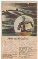 (114342) Künstler AK Liedkarte, Antje Mein Blondes Kind 1943-50er - Musica