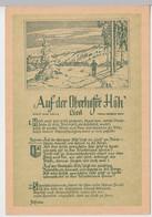 (111685) Künstler AK Liedkarte, Auf Der Oberhofer Höh, Herbert Roth DDR 1954 - Musica
