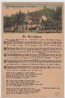 (114732) AK Liedkarte >Da Draakschänk<, Dreckschänke I. Breitenbach 1910/20er - Musica