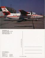 Postcard Pressburg Bratislava Let 410UVP Turbolet Flughafen Flugzeug 1991 - Slovaquie