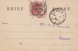 South Africa 1892: Senekal - Post Card - Zonder Classificatie