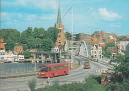 Dänemark - Sønderborg - Christian X's Bridge - Brücke - Cars - BMW - Bus - Denmark