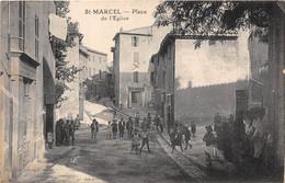 13-SAINT-MARCEL- PLACE DE L'EGLISE - Altri Comuni