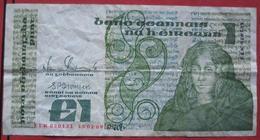 1 / One Punt / Pound 1989 (WPM 70d) - Ireland