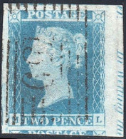 23/  Two Penny Blue  ML  1841  4 Margins Used - Used Stamps