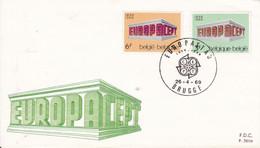 FDC 1969 EUROPA    Bruges  26.04.69 - 1961-70