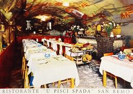 Cartolina - Ristorante U Pisci Spada Di Rosario - Sanremo - 1965 Ca. - Imperia
