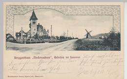 (108428) AK Berggasthaus Niedersachsen, Gehrden, Windmühle 1903 - Non Classés