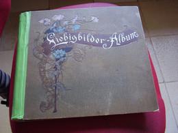 Original Old Album Liebig  Vide - Empty - Sammelbilderalben & Katalogue