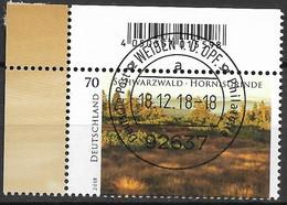2018  Deutschland Germany Mi. 3428 FD-used Weiden EOL Wildes Deutschland   Ziegenfeuter; - Used Stamps