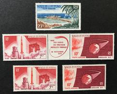 W&F 1965 - NEUF ** / MNH - PA 23 + PA 25A + PA 24 /25  -  ESPACE - LUXE - CV 16 EUR - Nuovi