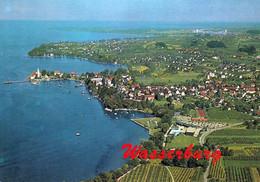 1 AK Germany / Bayern * Blick Auf Wasserburg Am Bodensee - Luftbildaufnahme * - Wasserburg A. Bodensee