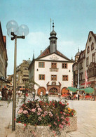 1 AK Germany / Bayern * Marktplatz Mit Dem Rathaus In Der Stadt Bad Kissingen * - Bad Kissingen
