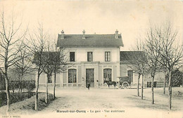 60* MAREUIL SUR OURCQ  La  Gare MA105,0561 - Unclassified