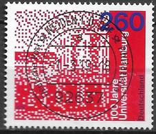 2019  Deutschland Germany Mi. 3449 FD-used WeidenL 100 Jahre Universität Hamburg - Gebraucht