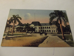 Cpa Port Au Prince Palais Des Finances - Mondo