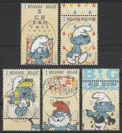 4749/4753 Des Schstroumpfs / De Smurfen Oblit/gestp Centrale - Used Stamps